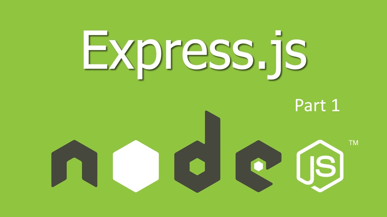 how to create a modular restfull api with node.js, express and